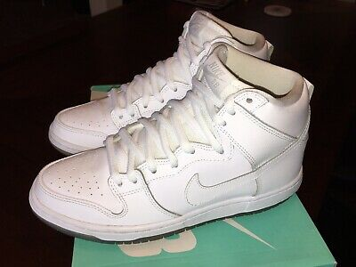 brand new 55030 c7201 NIKE SB DUNK High White Ice Size 8 Preowned Good Condition