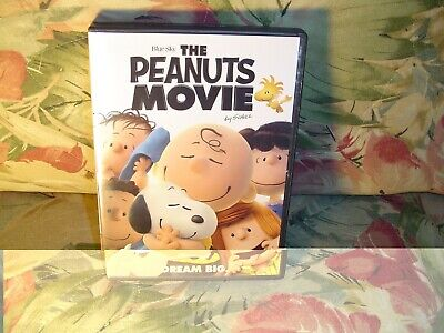 The Peanuts Movie - Dream Big (DVD, 2015) See them all, Charlie, Lucy, Snoopy