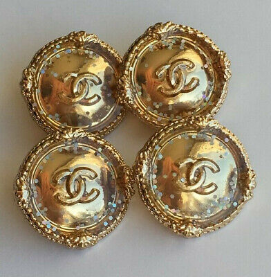 Chanel buttons Medium size, set of 4, 20mm