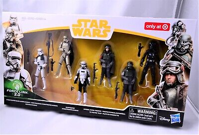 STAR WARS SOLO MOVIE Target Exclusive 6 pack MIMBAN Force Link 2.0 NEW
