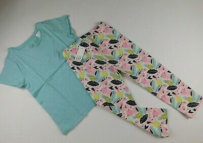 NWT Gap Toddler Girl's 2 Pc Outfit T-Shirt & Print Leggings 5 Years MSRP $30 New