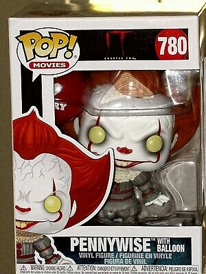 FUNKO Pop ! Movie Stephen King's IT Chapter 2 Pennywise with Balloon Pop Vinyl