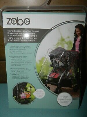 Travel System Weather Shield ZOBO Baby Rain Cover Universal - New
