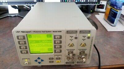 Newport 8200 Photonics test system with two light sources