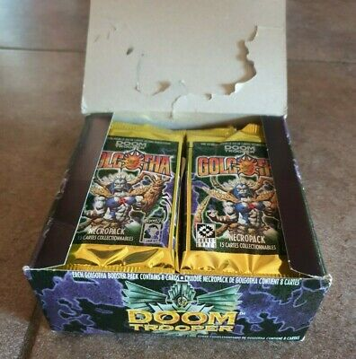 Doomtrooper Ccg - Golgotha Boosters Box - French Limited Ed. - 20 Boosters Vf