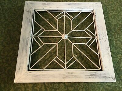 Hobby Lobby Wall Decor Cross Wooden w/ Metal wire cross  new
