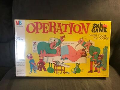 Vintage Operation Board Game - Brand New - Facory Sealed - Very Rare