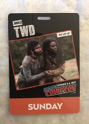 NYCC 2019 Badge - Sunday - Activated