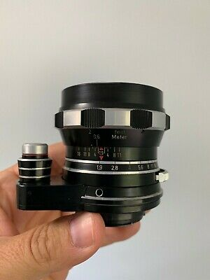 Rodenstock Heligon 50mm 1.9 Vintage Camera Exakta Exa Mount Lens Angenieux