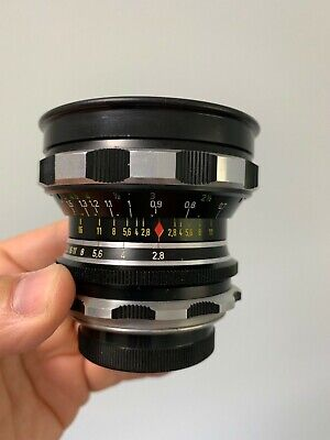 Rodenstock Eurygon 30mm f2.8 Vintage Camera Exakta Exa Mount Lens Angenieux