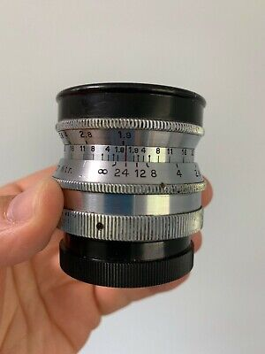 Meyer Gorlitz Primoplan 58mm f1.9 Early Heavey Brass Vintage Camera Exakta Lens