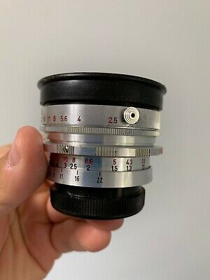 Enna Super Lithagon 35mm f2.5 Vintage Camera Exakta Exa Mount Lens Angenieux