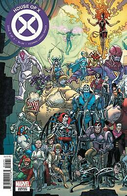 House Of X #6 Garron Connecting Variant Marvel Comics X-Men Wolverine Jean Grey