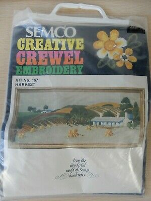 Semco Crewel Long Stitch Embroidery Kit No. 167 Harvest Australia