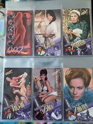WOMEN OF James Bond 007 full set of 72 wide-screen cards