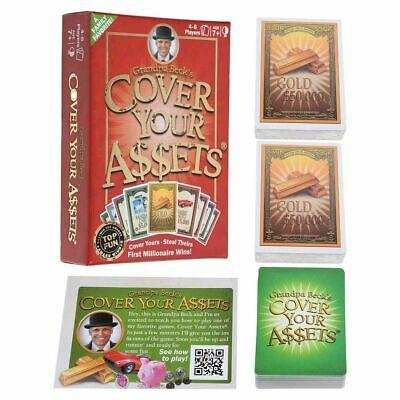 Grandpa Beck's Cover Your Assets Millionaire Card Game Family Friend Weekend HOT