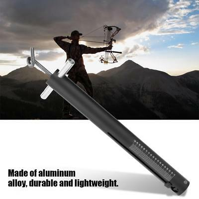 Tool Archery Digital Bow Scale For Draw Weight 88lbs Black Bow New Long Com J9K5