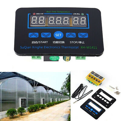 XH-W1411 LED Digital Temperature Controller 220V 10A Thermostat Control Switch