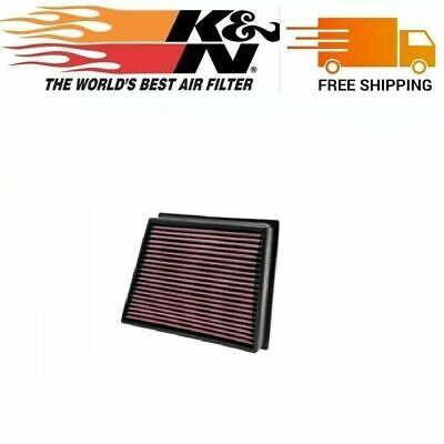 K/&N Replacement Air Filter for 11-16 GMC SIERRA 2500 HD 6.6L V8 DSL33-2466