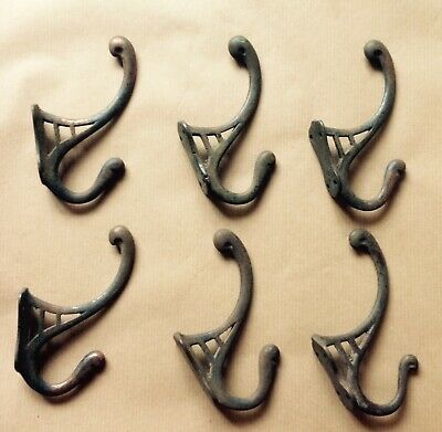 Antique Arts & Crafts - Art Nouveau Coat Hooks