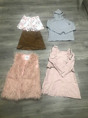 Used Girls Zara Size 11-12 Years Bundle 5 Piece Clothes Joblot Total Rrp £130