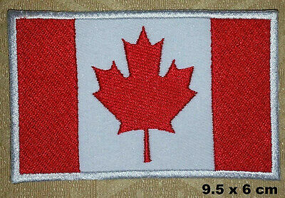 Canada Canadien National Pays Drapeau Thermocollant Patch Brodé Shorts Badge
