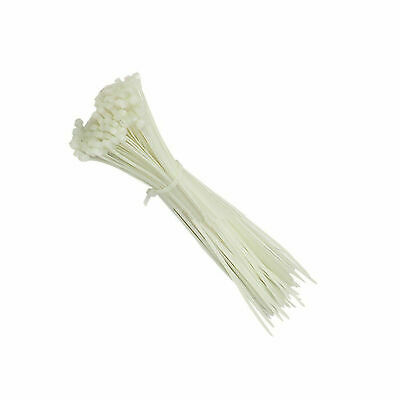 White 370mm x 4.8mm Cable Ties (100s)