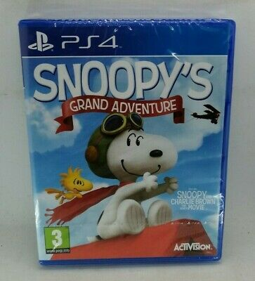 Snoopy's Grand Adventure Video Game for Sony PlayStation 4 PS4 NEW SEALED