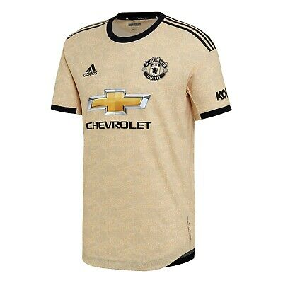 F35 Mens Small Manchester United Away Authentic Shirt 2019-20 - Free Prem Badge