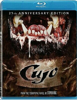 CUJO - Blu-ray rare - OOP US import - REGION FREE - Stephen King horror