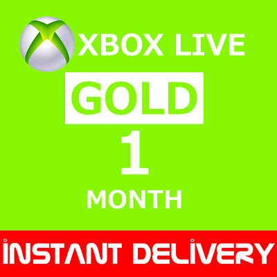 Xbox Live Gold 1 Month Membership (2x14 Day Xbox live gold Global) Xbox 1 Month