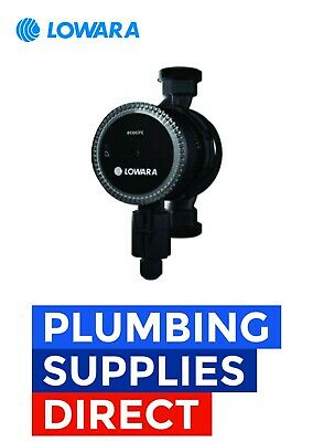Lowara - Ecocirc 25-6/130 Central Heating Pump With 6 Metre Head - SSRS1502