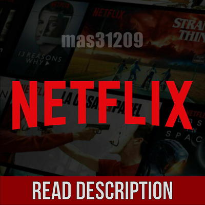 Netflix 4K & HD - 4 Screens Simultaneously