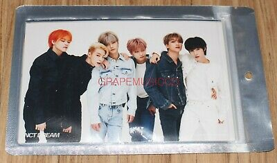 Nct Dream We Boom Smtown Official Goods 4X6 Photo Set New