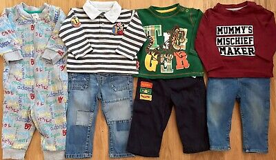 💙Disney, H&M, George Etc Baby Boy Clothes Bundle 6-9 Months I Combine Postage💙
