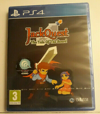 Jack Quest : the tale of the sword PS4 neuf sous blister rare