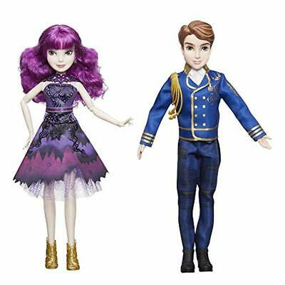 Disney Descendants Royal Cotillion Couple Dolls Mal and Ben Figure Girls Toy New