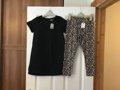 Next dress and leggings age 8 bnwt