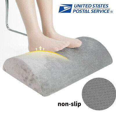 Portable Office Under Desk Foot Rest Pillow Knee Cushion Non-Slip Washable