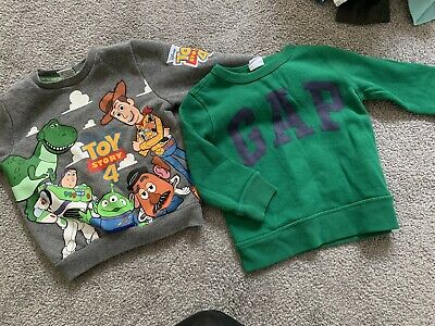 Toy Story Gap Baby Boy Jumper Bundle 18-24months