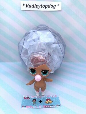 NEW Lol Surprise GLITTER GLOBE Winter Disco 💜 DREAMING B.B 💜Doll checked ) MGA
