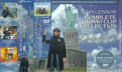 John Lennon / Complete Promo Clip Collection / 4DVD With OBI Strip / Sealed!