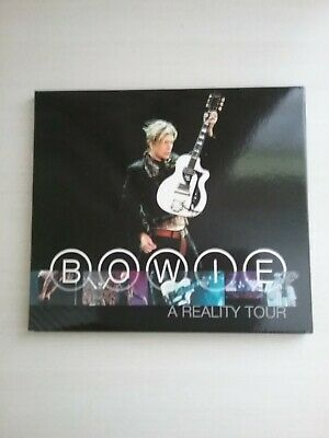 David Bowie  2 Cd Set With Booklet / A Reality Tour.