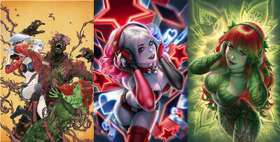 Harley Quinn & Poison Ivy #2 First Print Or Warren Louw Variants