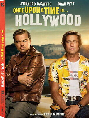 Once Upon A Time In Hollywood - DVD -  Leonardo DiCaprio PRE ORDER for 12/10/19!