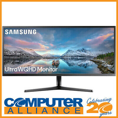 "34"" Samsung LS34J550WQEXXY Ultra WQHD 21:9 Wide Screen Monitor"