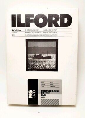 Ilford Multigrade IV RC Deluxe Pearl Paper / 12.7x17.8cm / 5x7 inch / 90 Sheets