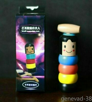Unbreakable wooden Man Magic Toy Small wooden toy Original Quality AU