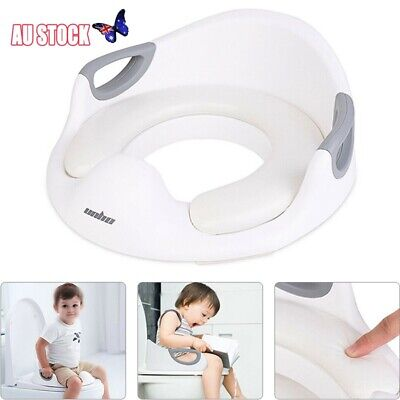 2 in 1 Baby Toilet Seat Training Child Toddler Kid Safe Potty Trainer Chair Tool