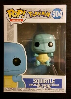 Funko Pop! Games #504 - Pokemon - Squirtle,  Mint